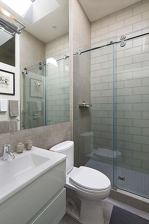 Marvelous Contemporary 3/4 Bathroom   Found On Zillow Digs. What Do You Think?