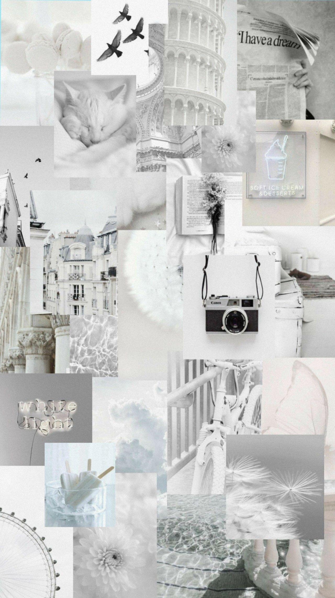 White Aesthetic White Wallpaper For Iphone Black Aesthetic Wallpaper Aesthetic Desktop Wallpaper