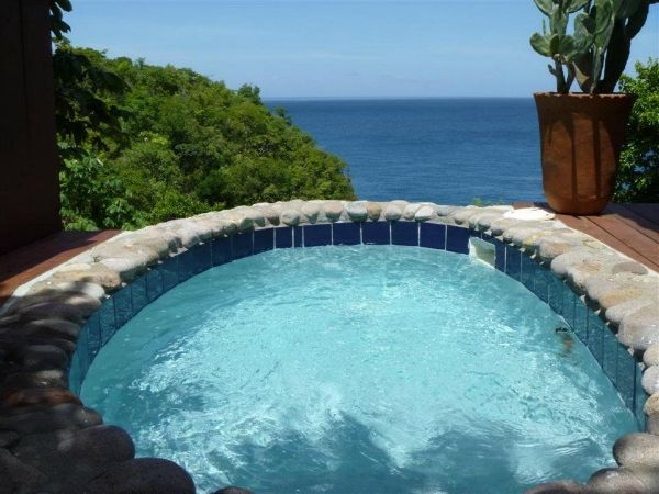 Ti Kaye Village in St Lucia... I so want to stay in one of the Le Cottages with my own private pool!