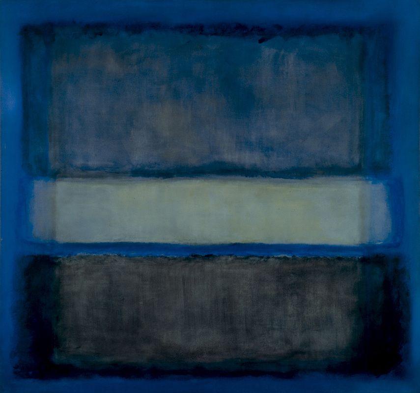 White Band by Mark Rothko