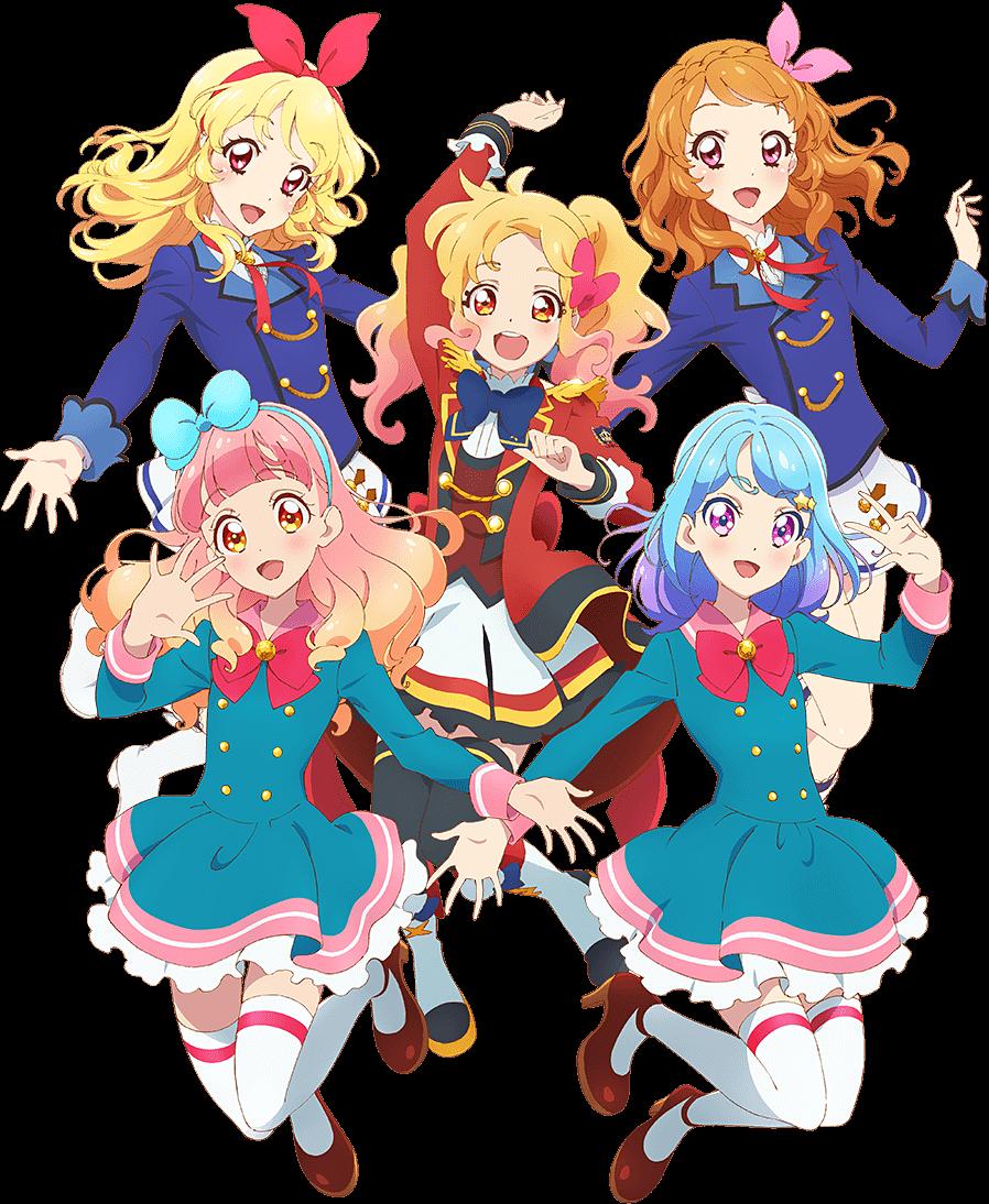 Aikatsu🌟Aikatsu stars🌟Aikatsu friends Anime, Phim hoạt