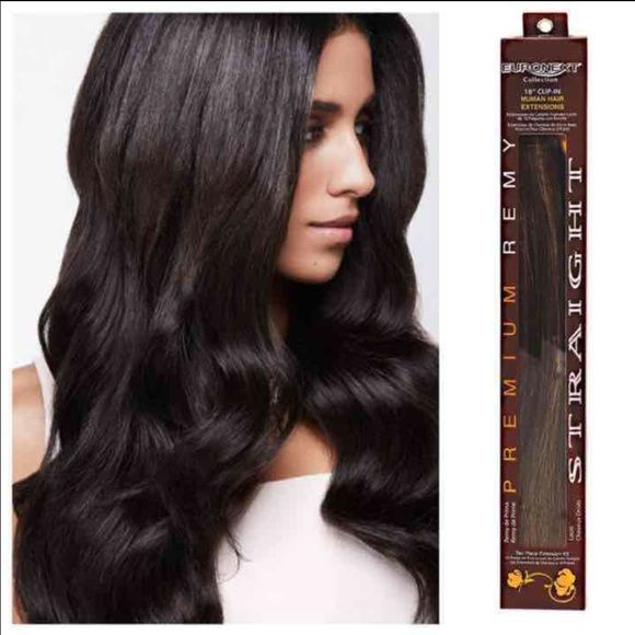 18 new human hair extensions brand new remy human hair extensions 18 new human hair extensions brand new remy human hair extensions clip in 18 euronext brand bought for 145 plus tax color is labeled espresso which pmusecretfo Choice Image