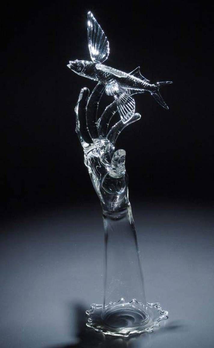 дальнейшем уровень скульптуры из стекла фото также