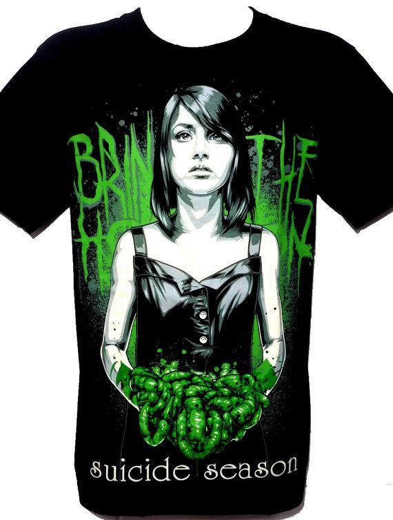 Bring Me The Horizon Metal Rock Band Graphic Tee par BestRockShirts, $14.90