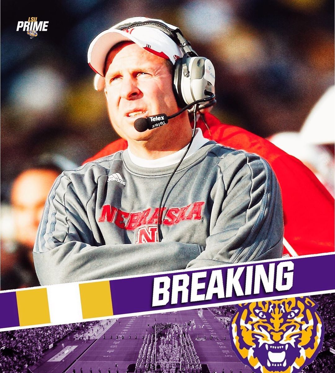 Lsu News 4 1k On Instagram Breaking It Has Been Reported That Lsu Hc Ed Orgeron Has Offered Bo Pelini The Defensive In 2020 Lsu Baseball Cards Football