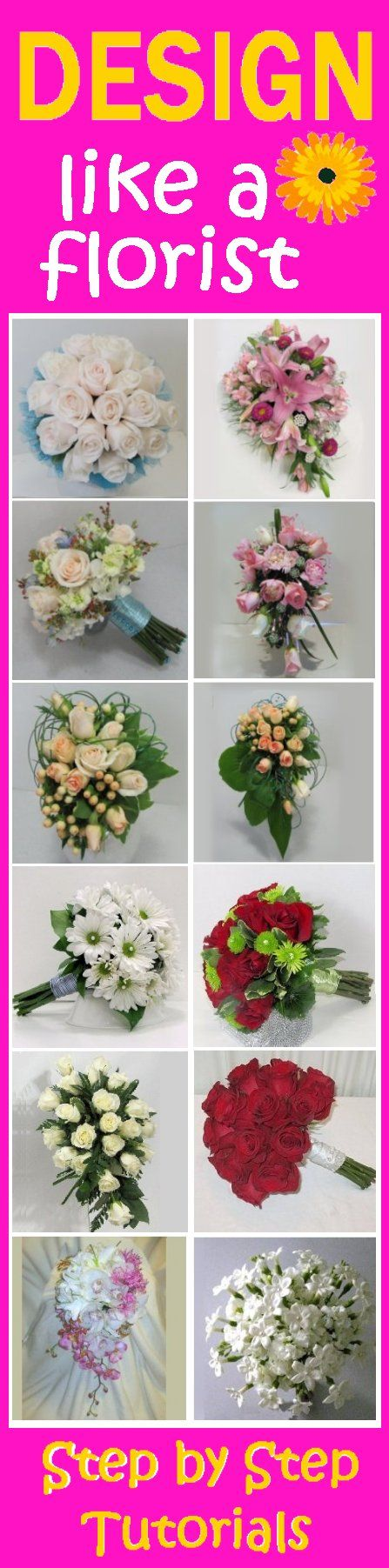 Learn How To Make Wedding Bouquets Corsages Boutonnieres