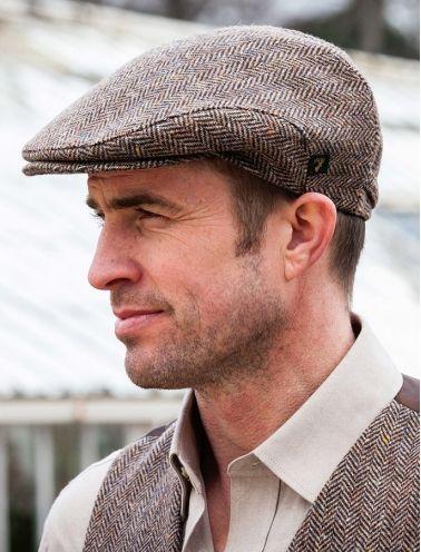 Irish Tweed Caps Irish Hats Flat Cap Men Mens Fashion Rugged Flat Cap