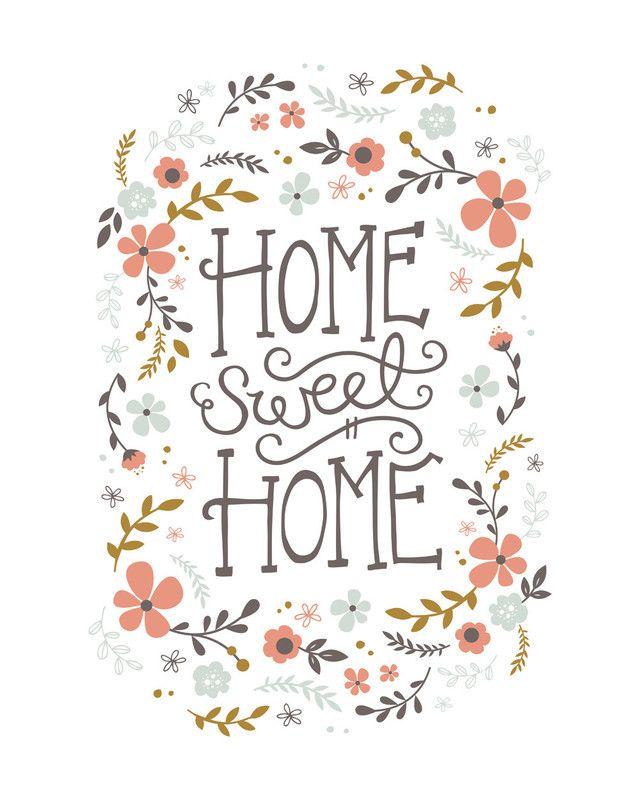 Pinterest Sweetness Rodney Ig Ebony Rod: Home Sweet Home Limited Edition Art Print By Kristen Smith