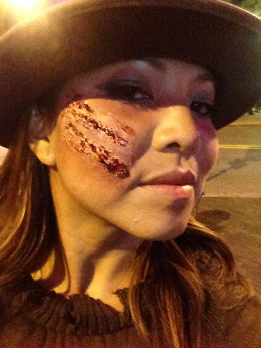 Freddy Krueger makeup | Halloween makeup | Pinterest | Freddy ...
