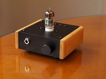 Small Diy Headphone Amp Diy Amplifier Diy Headphones Valve Amplifier