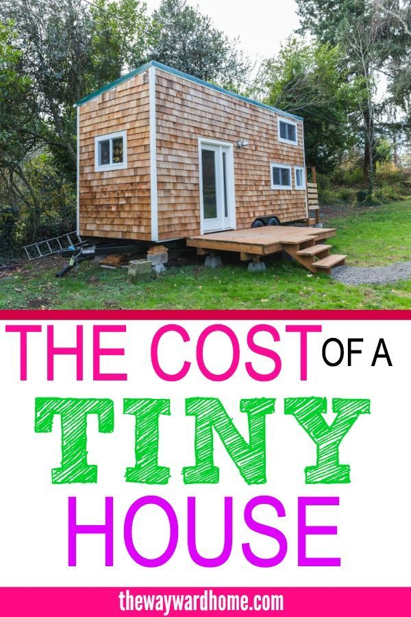 How much does a tiny house cost? | Tiny home cost, Tiny ...