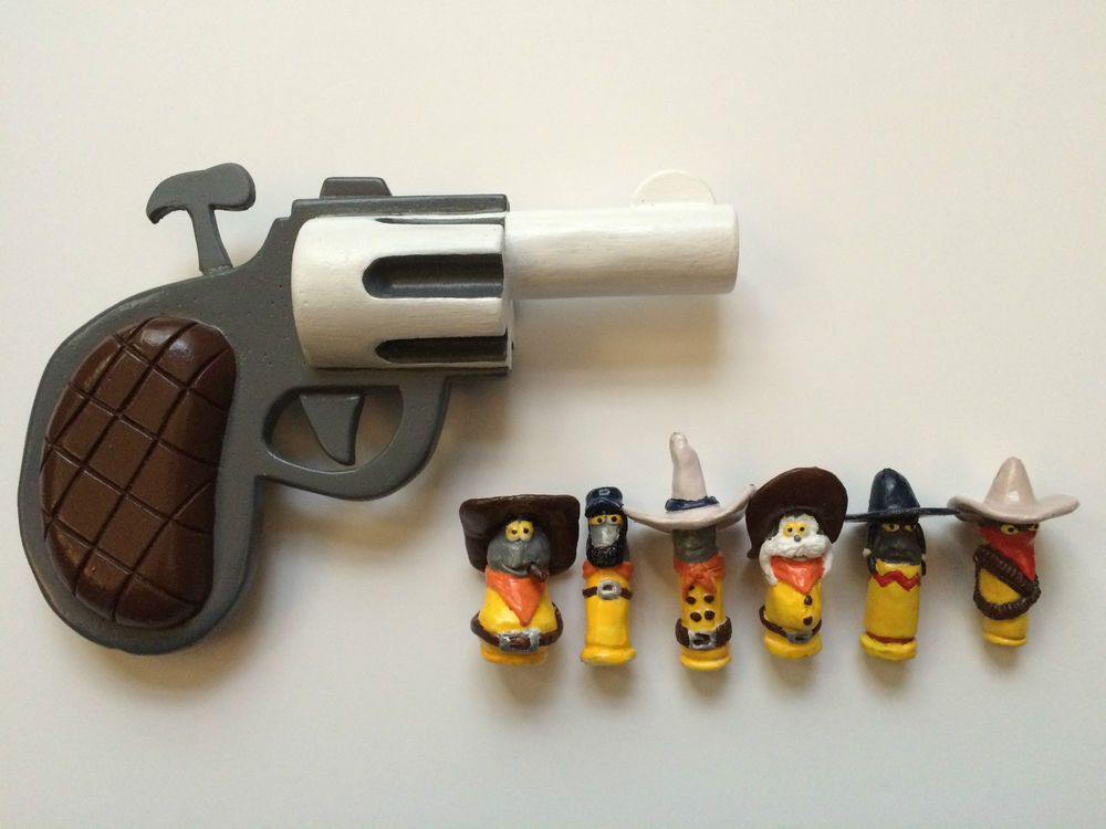Details about who framed roger rabbit painted pistol and