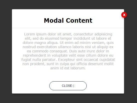 Simple css3 animated modal window with jquery elegantmodal a jquery css approach to creating a simple nice looking modal window with smooth css3 animations malvernweather Choice Image