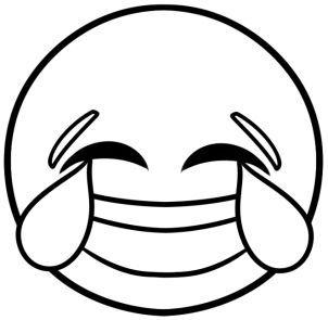 6a375e0a7abe0fee8890de0773d4ef40 Jpg 302 295 Emoji Coloring Pages Emoji Drawings Laughing Emoji
