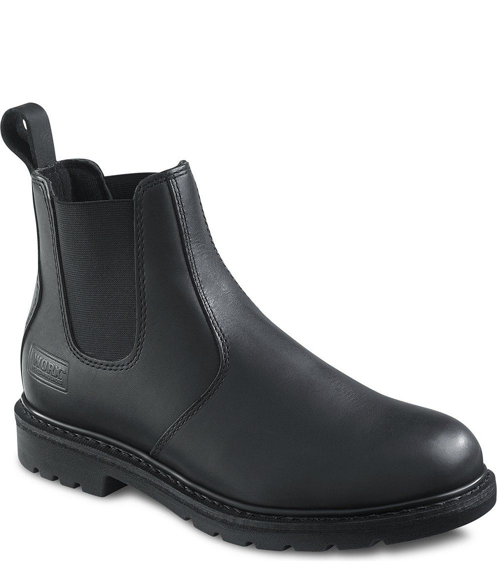 Red Wing 5424 WORX MEN'S 6-INCH ROMEO BLACK They have to be one of ...