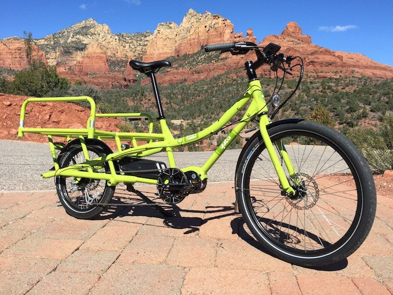 New Yuba Spicy Curry Mid Drive Electric Cargo Bike Video Pics