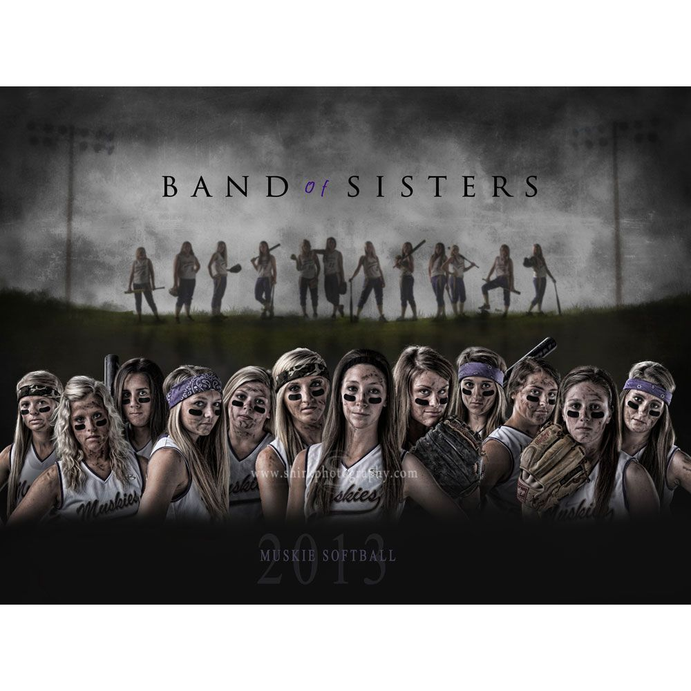 Band Of Sistersbrothers Photoshop Template Tutorial Team Bus