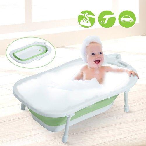 Homcom Banera Para Bebe Y Nino Para Bano Infantil Plegable