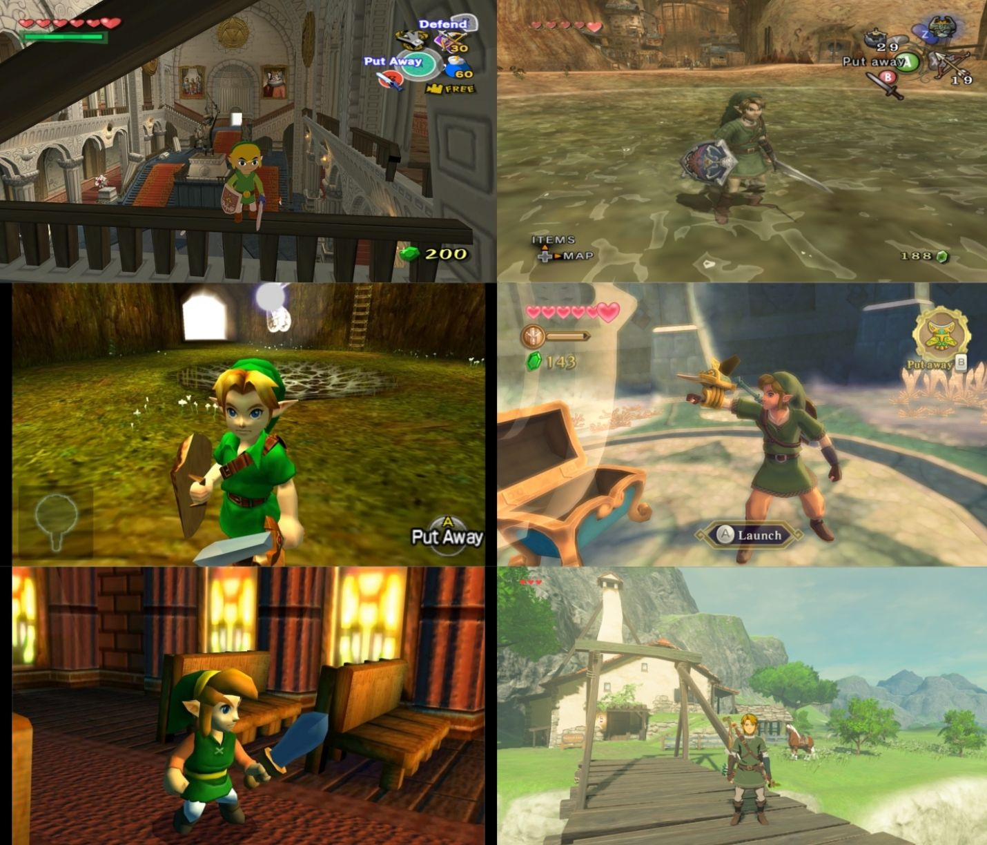 What's your favorite art style in the Zelda series? | The