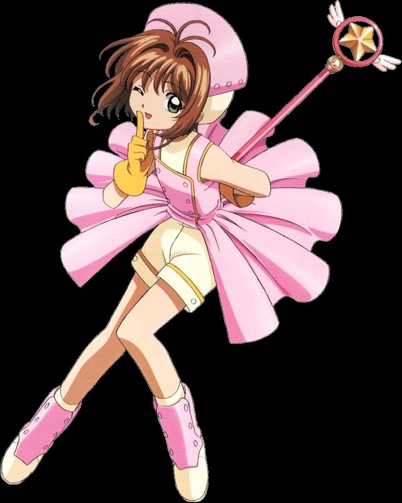 Pink Conversion Dress Costume Png Cardcaptor Sakura Cardcaptor Sakura Card