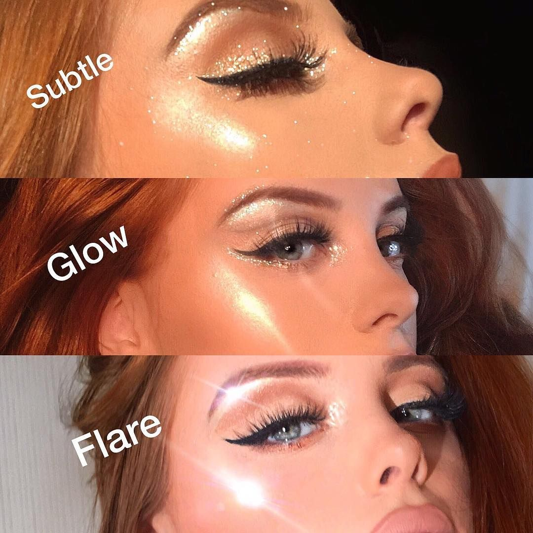 Flare Highlight How To Master The Viral Makeup Technique Allure Makeup Techniques Best Highlighter Anti Aging Makeup