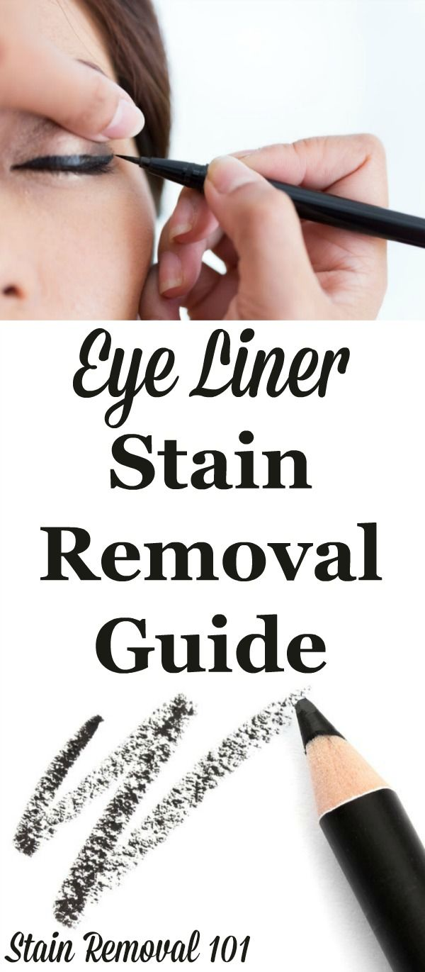 Eye Liner Stain Removal Guide Stain Removal Guide Stain Remover Carpet Stain Remover