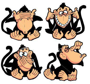 See No Evil Hear No Evil Speak No Evil And Smell No Evil Wise Monkeys Three Wise Monkeys Monkey Logo