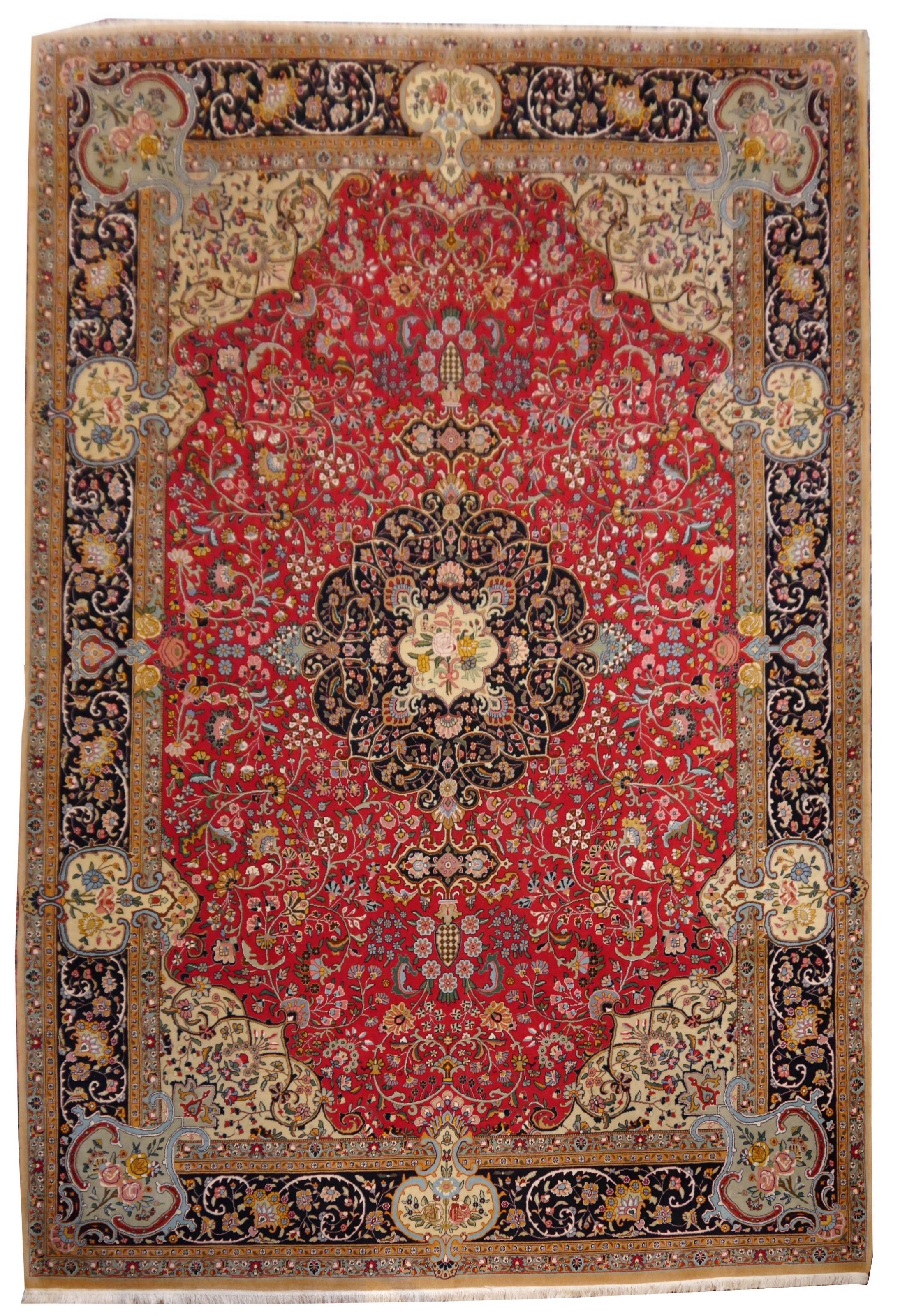 Abc Teppiche 13825 Tabriz Rug China 11 5 X 8 2 Ft 350 X 250 Cm The Rug