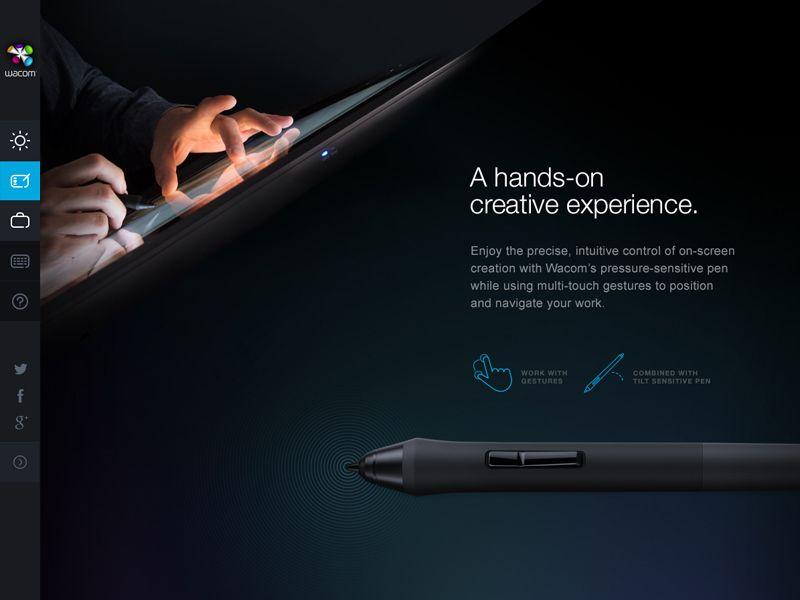 Wacom Case Study Web Design Web Graphic Design Web Design Inspiration
