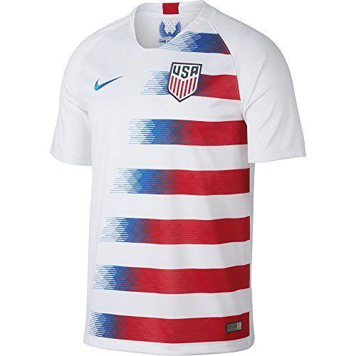 Discounted NIKE Men s Soccer U.S. Home Jersey (Medium)  00-LJ1PJHSE-XV   00-LJ1PJHSE-XV  887229878159  Apparel  Apparel  Medium  NIKE   NIKEMen sSoccerU. 27ea3a920