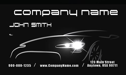 Car dealer automotive business card design 501011 my office car dealer automotive business card design 501011 reheart Image collections