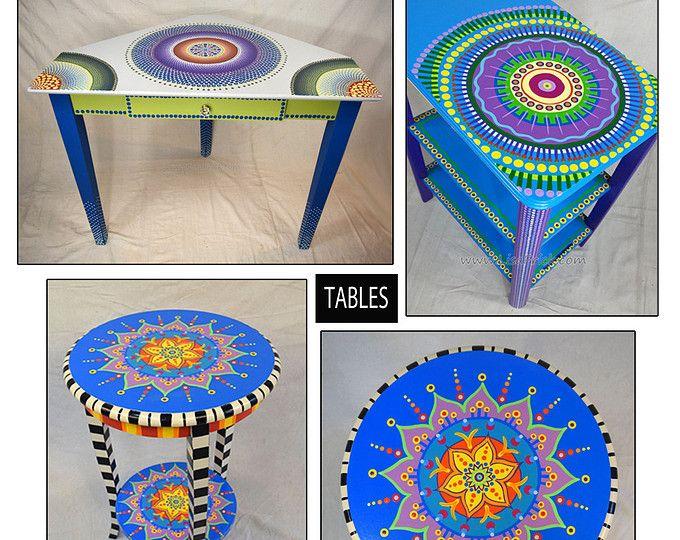 Muebles, mano personalizado pintado a mano muebles pintados ...