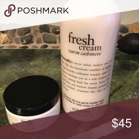Philosophy Lotion Body Wash Fresh Cream 32 Oz Body Wash Philosophy Fresh Cream Warm Cashmere W Pump Huge 8oz P Fresh Cream Philosophy Fresh Cream Body Wash