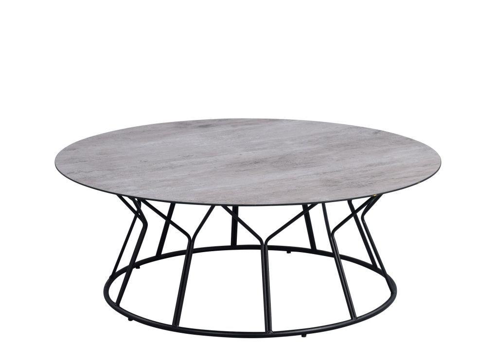 Lydia 3 Couchtisch Rund Farbe Schwarz Multicolor Couchtisch Couchtisch Rund Tisch Hohenverstellbar