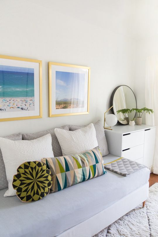 DIY daybed and guest room makeover | sugar & cloth