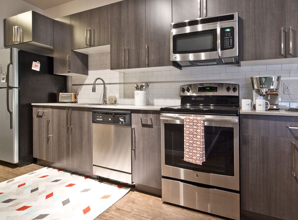 Fully Equipped Kitchens With Stainless Steel Appliances, Built In  Microwaves, Under Mount