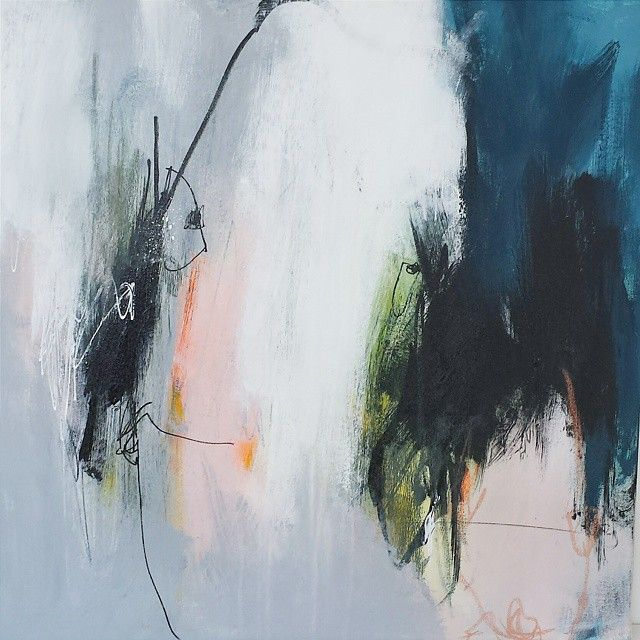Bettina Holst On Instagram Fra Min Nye Serie Forelobig Bare 4 Stk Som Regel Er Vi Glade Vendes De Om Kommer Et Nyt Mal Abstract Artwork Artwork Abstract