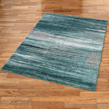 Stormy Skies Teal Abstract Area Rugs Teal Rug Teal Rug Living Room Teal Area Rug