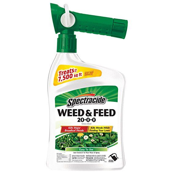 Spectracide Weed & Feed 20-0-0 (Ready-to-Spray) (HG-96262) (32 fl oz) Weed killer homemade | weed killer | weed killer vinegar | weed killer homemade for ...