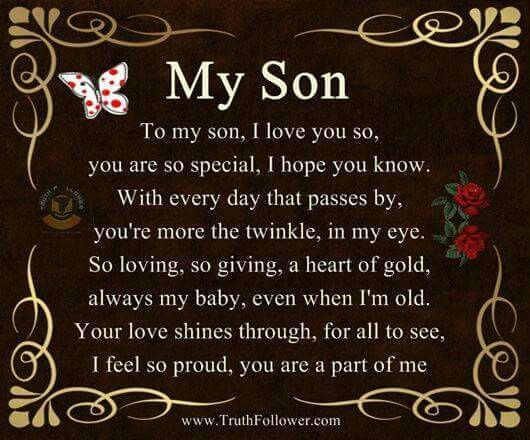 🎆Kyle🎆 | Son quotes, Proud of you quotes, Son quotes from mom