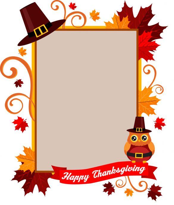 thanksgiving photo frame | classroom Helpers | Pinterest ...