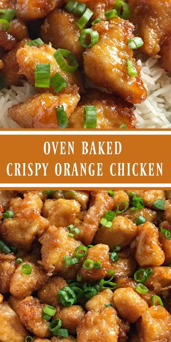 Baked Crispy Orange Chicken images