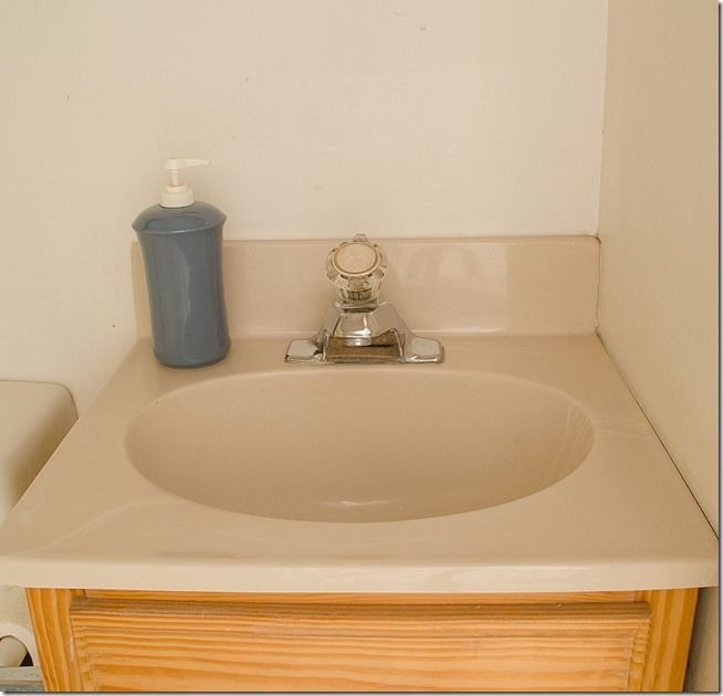 How To Paint A Sink Painting A Sink Bathroom Redecorating Bathroom Vanity Renovation