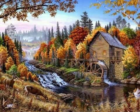 Fall mill