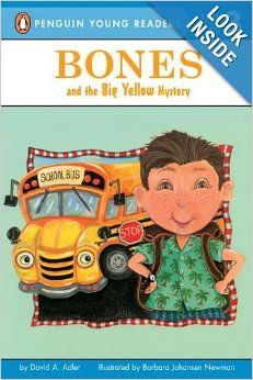 The Bones Mystery Series.  This series has been become well-loved by my reluctant reader!