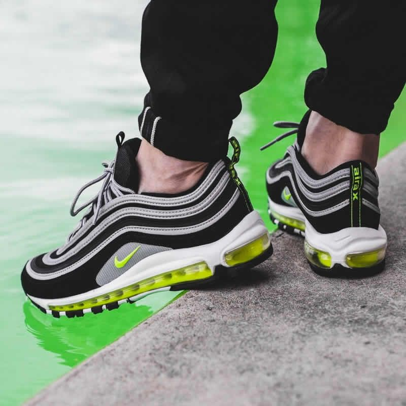 air max 97 black and green