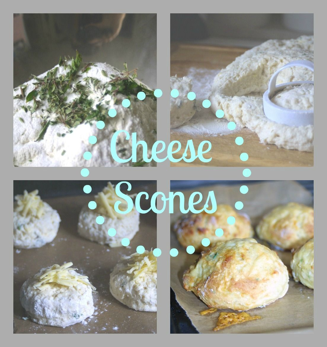 Lemon & Lime Thyme: Cheese Scones