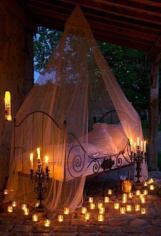 Schlaf gut | Cozy | Romantisches schlafzimmer, Kerzen und Kerzenlicht