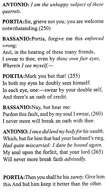 Merchant Of Venice Act 5 Scene 1 Translation Meaning Annotation 14 Http Www Aplustopper Com S Meant To Be English Reading Acting Paraphrase Pdf Download