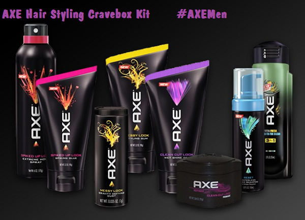 Axe Hair Styling Cravebox Kit Axemen Enter To Win An Axe Cravebox Filled With Mens Haircare Products Axemen C Axe Hair Products Mens Hair Care Hair Care